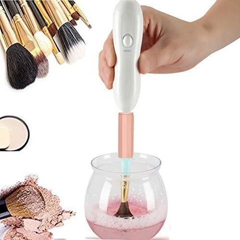 Professional Automatic Electric Clean & Dry All Makeup Brushes Set in Seconds 360 Degree Rotation