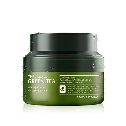 Tonymoly The Chok Chok Green Cream cu apă (60ML) - Beautyshop.ie