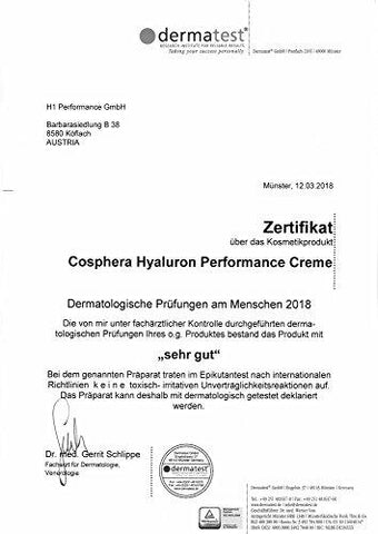CospHera Hyaluronic Performance 50ml Day and Night Cream with Hyaluronic Acid for Face, Neck - Beautyshop.ie
