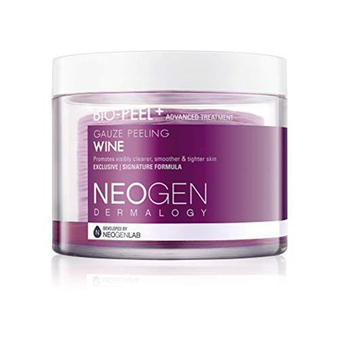 NEOGEN DERMALOGY BIO - Peel Gauze Peeling Wine 30 Count, 200ml af NEOGEN DERMALOGY - Beautyshop.ie