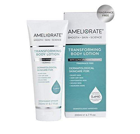 AMELIORATE Transforming Body Lotion Fragrance Free 200ml - Beautyshop.dk