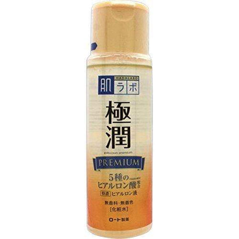 Hada Labo JAPAN Solution Hyaluronique Premium Goku-Jyun 170mL - Beautyshop.fr