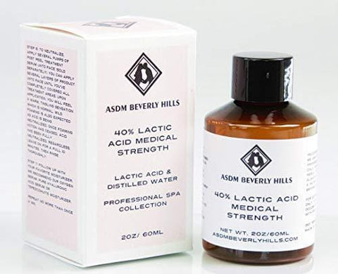 Asdm Beverly Hills Lactic Acid 40% (60ml) - Beautyshop.ie