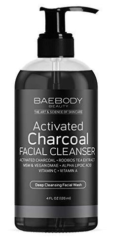 Baebody Charcoal Facial Cleanser (120ml) - Beautyshop.cz