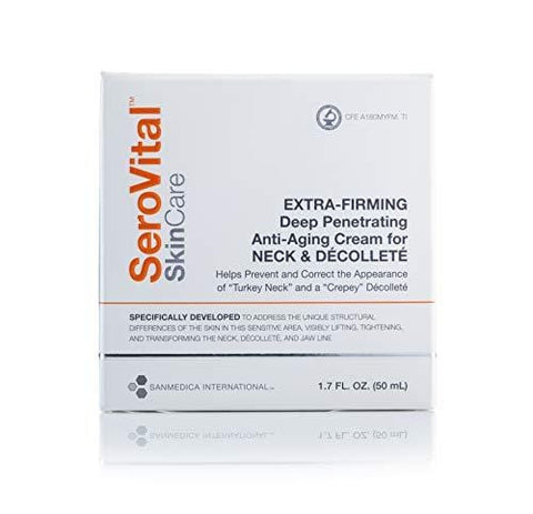 SeroVital  Extra-Firming Deep Penetrating Anti-Aging Cream for Neck & Décolleté. (50ml)