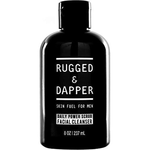 RUGGED & DAPPER Daily Face Wash and Scrub Cleanser for Men - Beautyshop.it