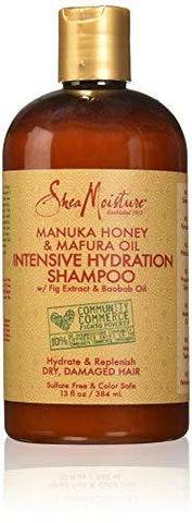 Shea Moisture Manuka Honey & Mafura Oil Intensive Hydration Shampoo (384ml) - Beautyshop.ie