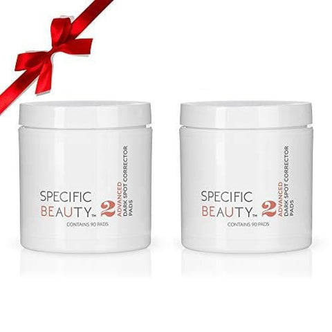 Specific Beauty - Advanced Dark Spot Correcting Pads 90 Day Supply (2 Pack- Full Size) - Beautyshop.ie