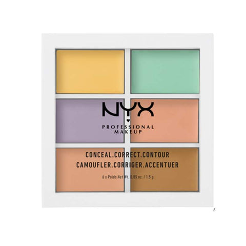 NYX PROFESSIONAL MAKEUP Palette de correction des couleurs - Beautyshop.fr