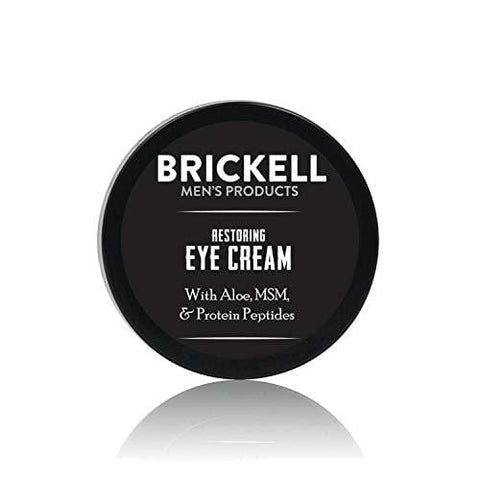 Brickell Men's Restoring Eye Cream for Men