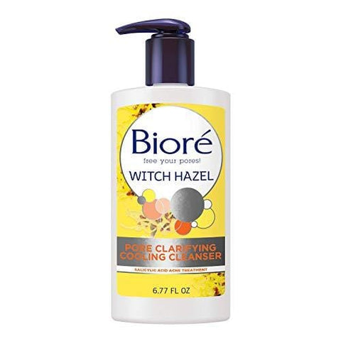 Bioré Witch Hazel Pore Clarifying Acne veido prausiklis - 180ml - Beautyshop.lt