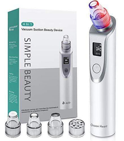2020 Newest Version Pore Vacuum with Blue/RED light for Pore Contraction and Skin Rejuvenation - Beautyshop.ie
