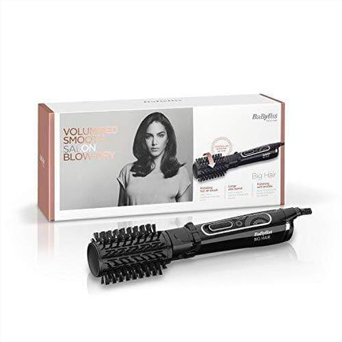 Cepillo de peinado giratorio de aire caliente BaByliss Big Hair de 50 mm - Beautyshop.es