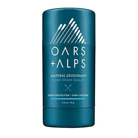 Oars + Alps Natural Deodorant | Fresh Scent, Aluminum-Free, Alcohol-Free, Fights Odor. 75g