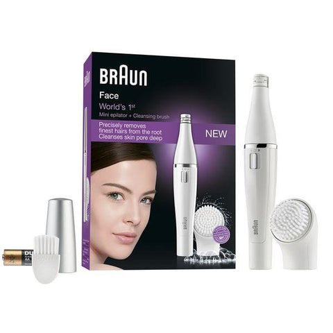 Braun's 810 Facial Epilator and Cleansing Brush - Beautyshop.dk