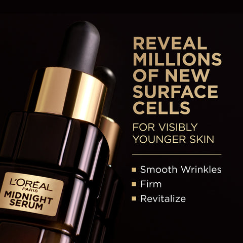 L'Oreal Paris Age Perfect Cell Renewal Midnight Serum - 30ml - Beautyshop.ie