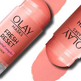 Face Masks by Olay, Clay Facial Mask Stick With Pink Mineral Complex, Fresh Reset - Beautyshop.ie