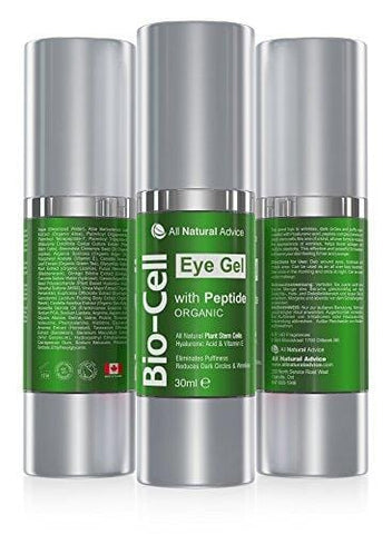 Bio Cell Organic Eye Gel 30 ml - Canadian Made (30ml)