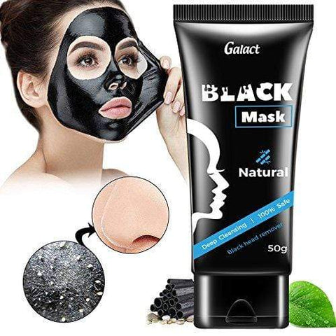 PREMIUM Natural Charcoal Mask: Activated Peel-Off Bamboo Mask For Blackhead Removal