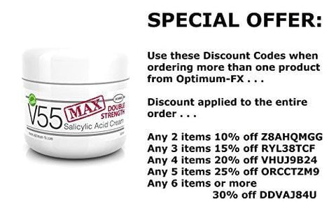 V55 MAX Double Strength Salicylic Acid Cream (50grams) - Beautyshop.ie