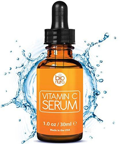 Bioniva Vitamin C Serum with 20% Vitamin C + Hyaluronic Acid. - Beautyshop.ie
