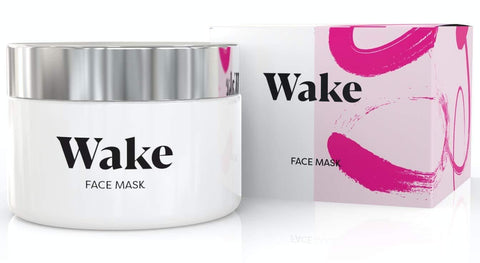 Wake Skin Care Mask - Detox Pink Clay Mask