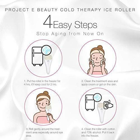 Project E Beauty Ice Roller Cold Therapy - Beautyshop.se