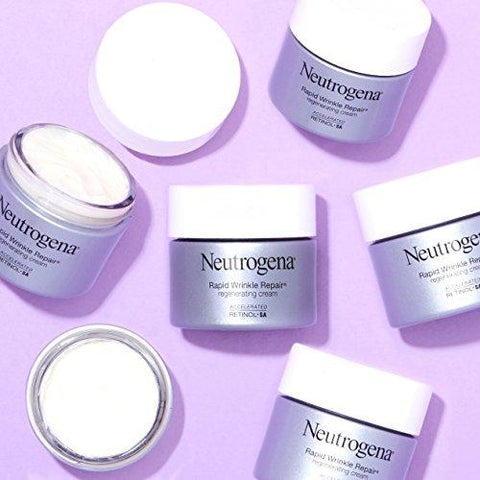 Neutrogena Rapid Wrinkle Repair Retinol Anti-Wrinkle Regenerating Face Cream - Beautyshop.ie
