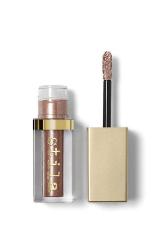 Stila Magnificent Metals Glitter and Glow Liquid Eye Shadow 4.5 ml, Rose Gold Retro