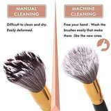 Professional Makeup Brush Cleaner – Automatic Cosmetic Brushes Cleaning Machine 360 Degree Rotation - Beautyshop.ie