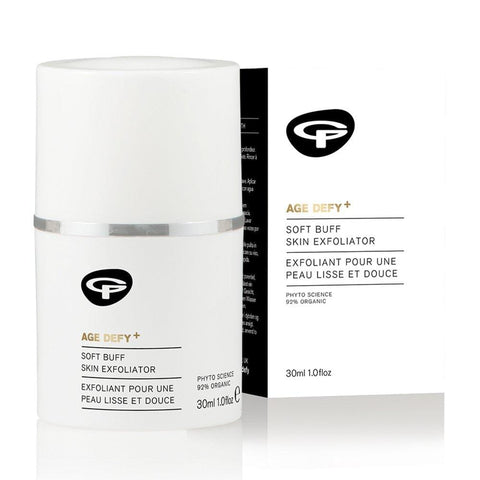 Green People Age Defy + mīksts bufetes ādas pīlings - 30ml