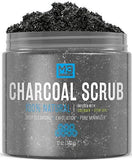M3 Naturals Activated Charcoal Scrub Infused with Collagen & Stem Cell - Beautyshop.ie