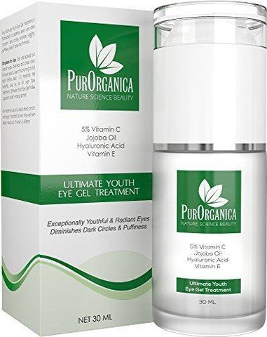 PurOrganica Organic Eye Cream Double Sized 30ML