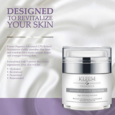 Kleem Retinol Face Cream: med 2.5% Retinol - Beautyshop.ie