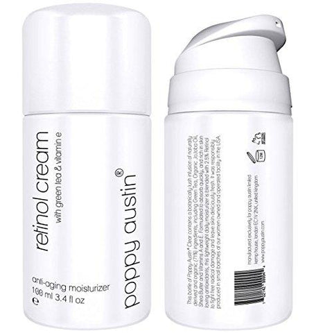 Retinol Cream for Day & Night by Poppy Austin® - TRIPLED SIZED 100ml - - Beautyshop.ie