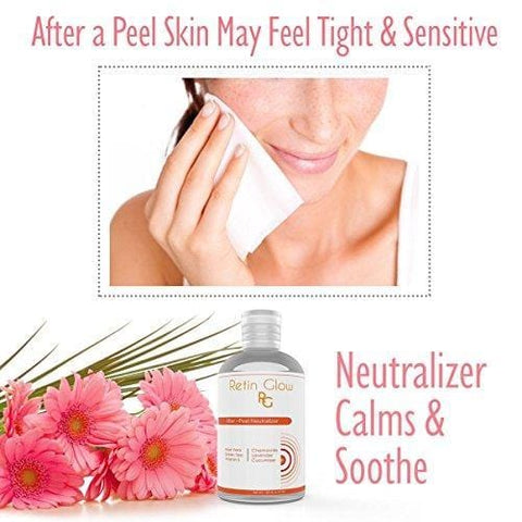 Glycolic Acid 50% Gel Peel Including After Peel Neutralizer Facial Peel Contains Retinol Vitamin C Kojic Acid Licorice Bearberry Tea Mulberry. Acne Treatment Perfect Mild Strength Chemical Peel - Beautyshop.ie