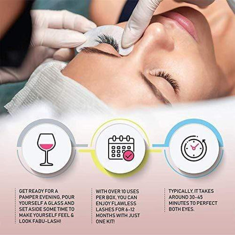 Premium Professional Home Lash Lift Kit, All In One Lash Lash & Curling - С 6-12 месяцами приподнятых ресниц в коробке - Beautyshop.ie