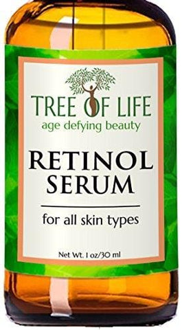 Tree of Life Retinol Serum - Organic Clinical Strength Retinol Serum (60ml)