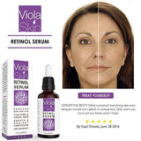 Viola Skin PREMIUM Retinol Face Serum with Hyaluronic Acid - Beautyshop.ie