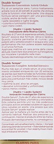 Clarins kompletni dobiveni dvostruki serum, 30 ml (1 oz.) - Beautyshop.ie