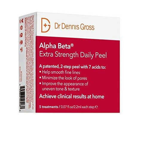 Dr Dennis Gross Skin Care Alpha Beta peel, dodatna čvrstoća - paket 5 - Beautyshop.ie