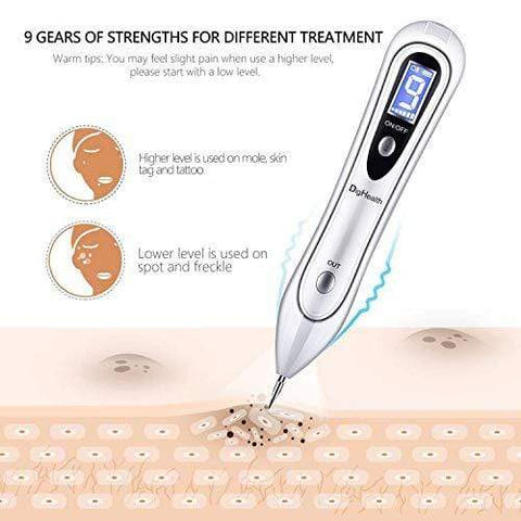 DigHealth Skin Tag Removal Pen FDA approved Mole Removal Pen, 9 Adjustable Modes - Beautyshop.ie