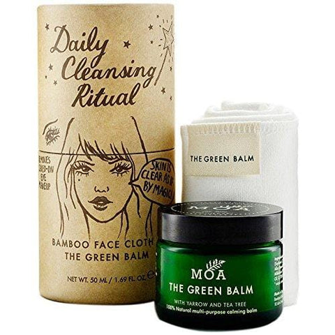 Moa The Green Balm Daily Cleansing Ritual