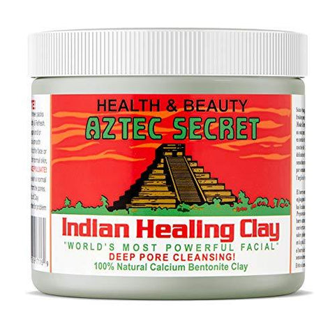 Aztec Secret Indian Healing Clay - 1 pund | Deep Pore Cleansing Facial & Body Mask (ny version) - Beautyshop.se
