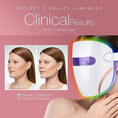 Projekt E Beauty Lumamask | Ultra Light Wireless LED Photon Face Mask - Beautyshop.se