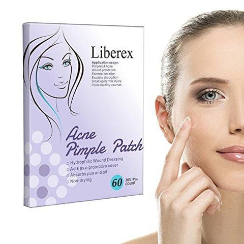 Liberex Acne Pimple Master Patch - 60 plāksteri - Beautyshop.lv
