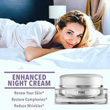 Pure Premium Night Cream Face Moisturiser with Retinol - Beautyshop.ie