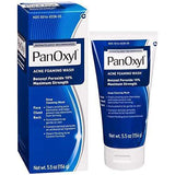 PanOxyl Acne Foaming Wash Benzoyl Peroxide 10% Maximum Strength Antimicrobial - 156ml - USA No 1 Best Selling Acne Treatment - Beautyshop.ie