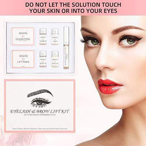 Professional 2 In 1 Eyelash and Brow Lamination Kit - Beautyshop.se