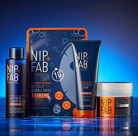 Nip+Fab Glycolic Fix Extreme Night Pads 80 ml